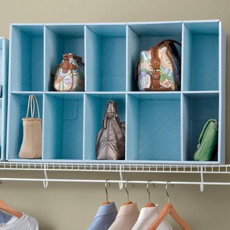 Park a purse closet purse organizer