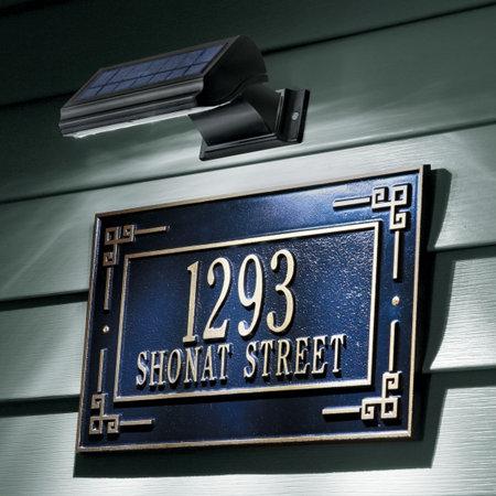 Solar Led Address Marker Light