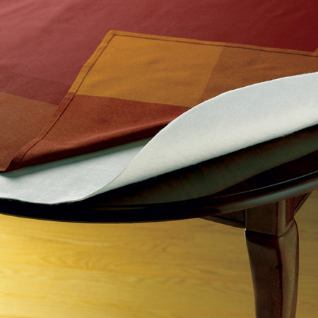 CuttoFit Cushioned Table Pads Improvements - Brown table pad