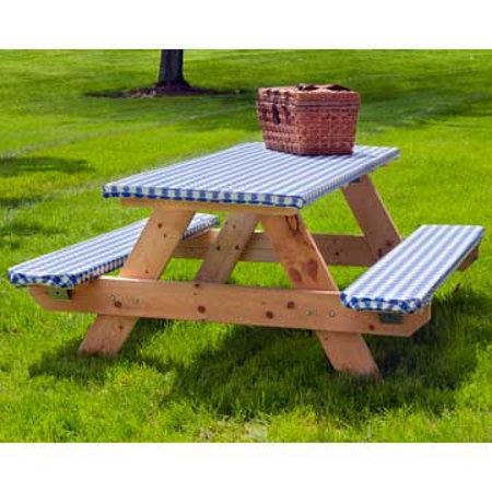 Elasticized Picnic Table Cover Set