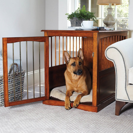 Pet End Table Crate Home Ideas