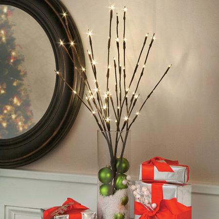 Led Lighted Branches