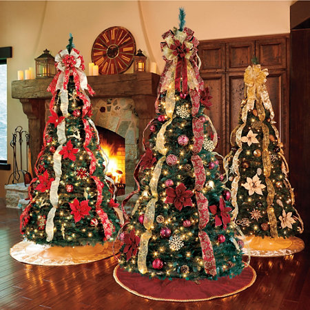 Pre Decorated Christmas Trees For Sale