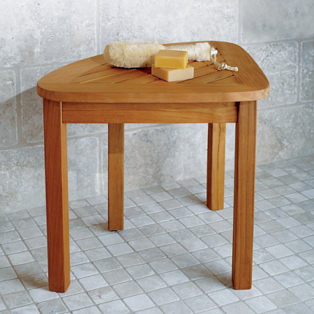 Teak Shower Stool | Improvements