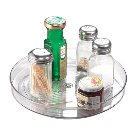 Clear Lazy Susan Turntable 9