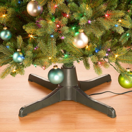rotating artificial tree stand