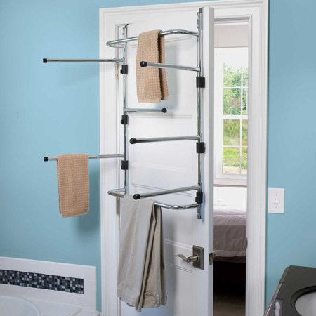 Chrome Over The Door Dryer Rack Improvements