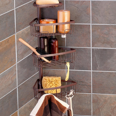 Tension Pole Shower Caddy | Improvements