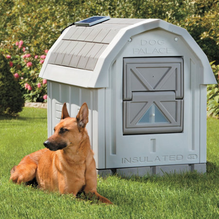 Premium insulated dog house improvements for Insulated dog houses for winter