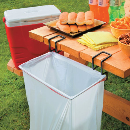 Portable Trash Bag Holder