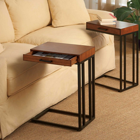 Tray Table With Drawer