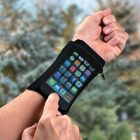 touch mesh phone wrist wallet improvements. Black Bedroom Furniture Sets. Home Design Ideas
