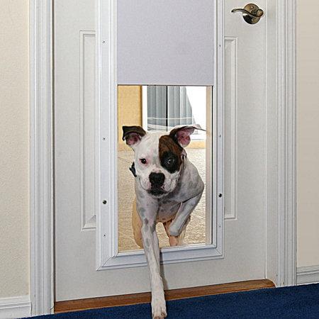 Plexidor Performance Electronic Door Mount Pet Door Improvements
