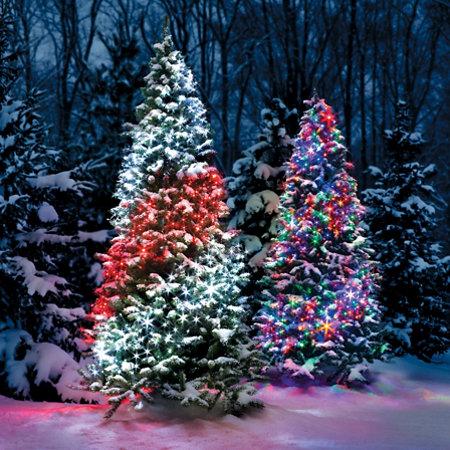 led ribbon net lights - Christmas Tree Net Lights