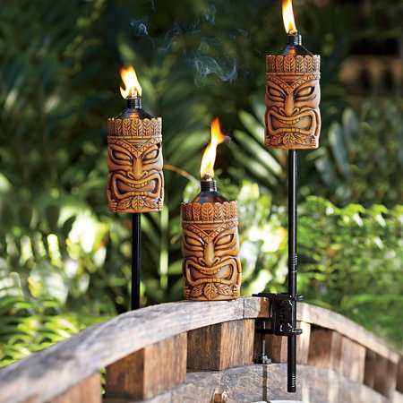 Oil Burning Tiki Torch Improvements