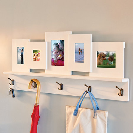 Picture Frame Shelf with Hooks | Improvements