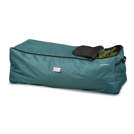 rolling christmas tree storage bag with steel frame 9 - Rolling Christmas Tree Storage Bag