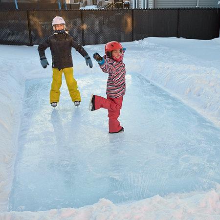Simple Rink Backyard Ice Skating Rink - Simple Rink Backyard Ice Skating Rink Improvements