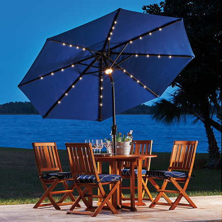 9 Solar Lighted Umbrella