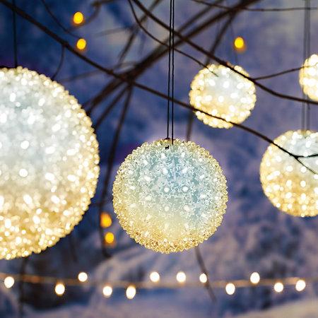 starlight twinkling sphere - Sphere Christmas Lights