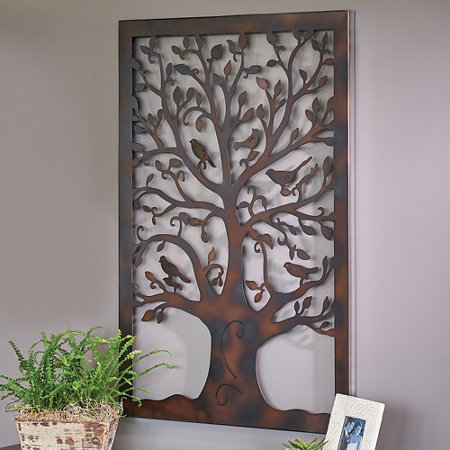 Metal Tree of Life Wall Art Decor | Improvements