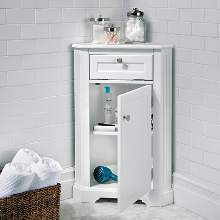 weatherby bathroom corner storage cabinet improvements