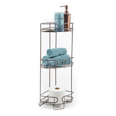 3 Tier Corner Bath Storage Tower