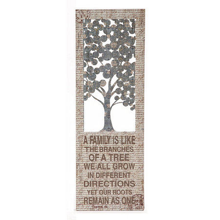 Family Tree Metal Wall Decor | Improvements