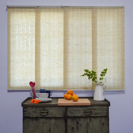 Cordless Fabric Panel Track System Provence Collection