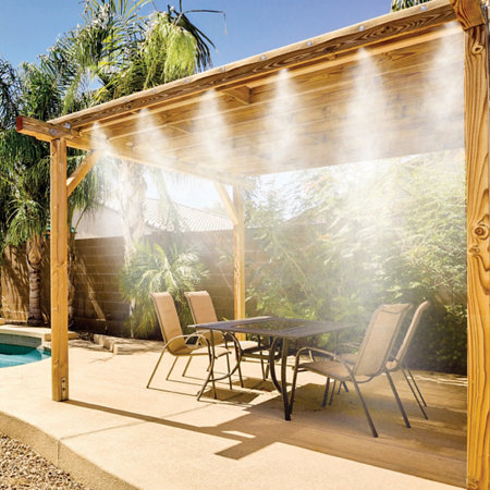 Cool Patio 20 Outdoor Misting Kit - Cool Patio 20 Outdoor Misting Kit Improvements