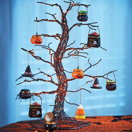spooky tabletop halloween tree improvements