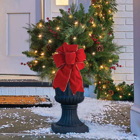 classic lighted urn filler - Christmas Tree Filler Decorations