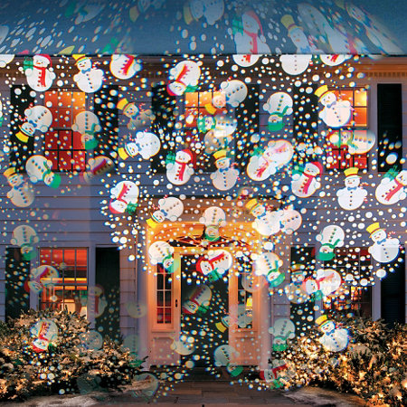cascading icon outdoor christmas lightshow projector - Christmas Projector Outdoor