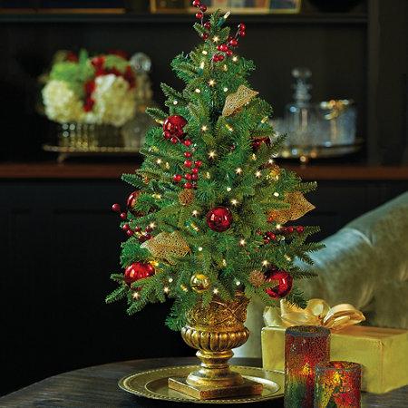 Madison Lighted Tabletop Christmas Tree | Improvements Catalog