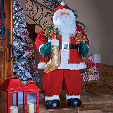 life size santa claus christmas decoration