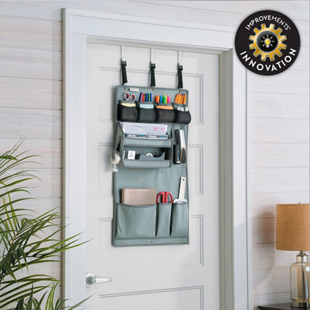 Dordrawer 13 Pocket Office Craft Supplies Over The Door Organizer