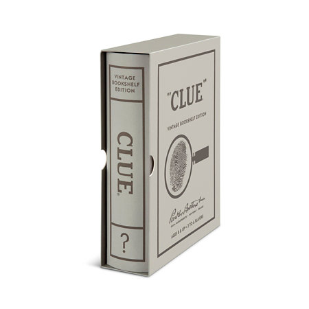 Clue Vintage Bookshelf Edition Board Game