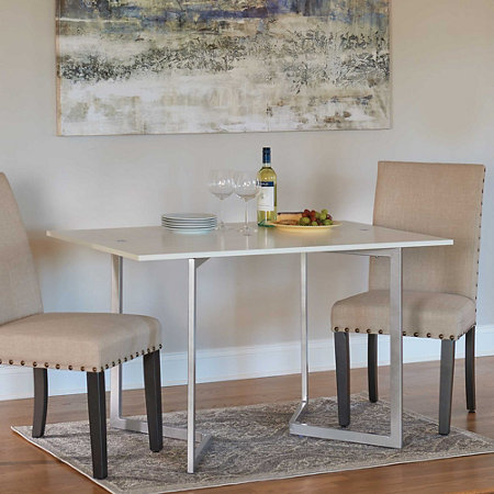 Convertible Console And Dining Table Improvements - Convertible sofa table to dining table