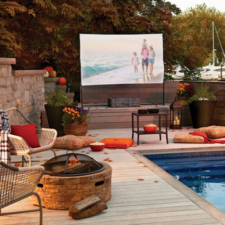- Backyard Drive In Outdoor Movie Theater Improvements