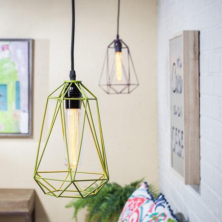 Geo indoor outdoor cordless hanging light