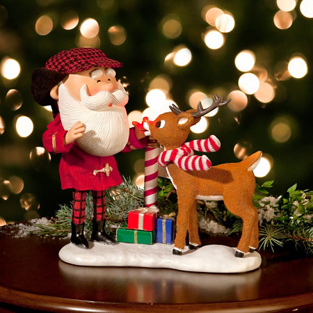 possible dreams santa that nose rudolph christmas decoration