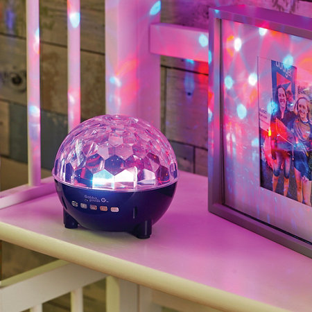 Portable Disco Ball Light Up Bluetooth Speaker Improvements - Bedroom disco lights