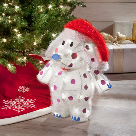 rudolph misfit toy elephant outdoor christmas decoration