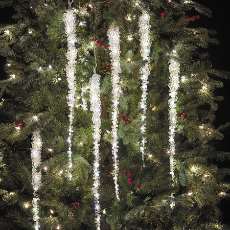 - Lighted Icicle Christmas Tree Ornament Improvements
