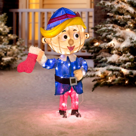 hermey the elf outdoor christmas decoration - Elf Outdoor Christmas Decorations