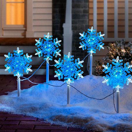 Snowflake Christmas Pathway Lights - Snowflake Christmas Pathway Lights Improvements