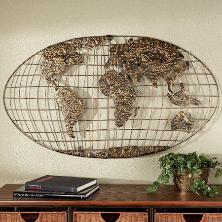 World map wall sculpture gumiabroncs Images