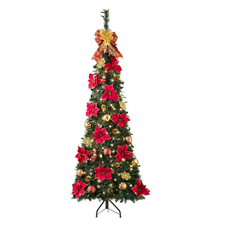 corner pull up christmas tree - Pull Up Christmas Tree