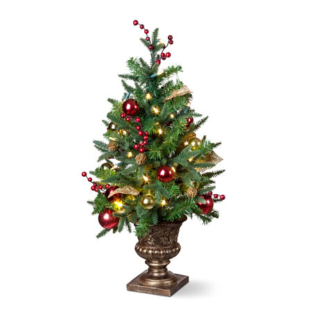 madison lighted tabletop christmas tree