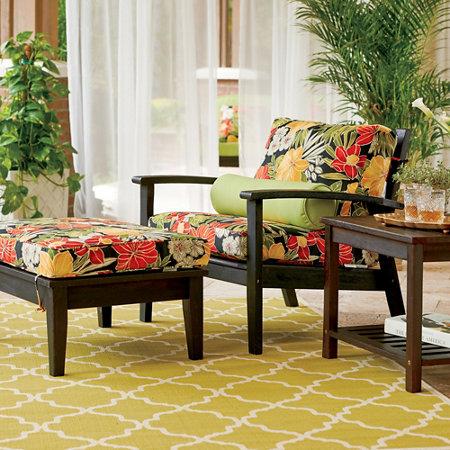 5-Piece Eucalyptus Deep Seat Outdoor Patio Set - Eucalyptus Deep Seat Furniture Group Improvements